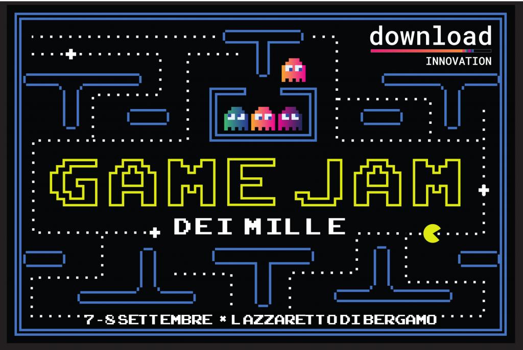 Game Jam dei mille, 7 e 8 settembre 2019, Download innovation – Bergamo