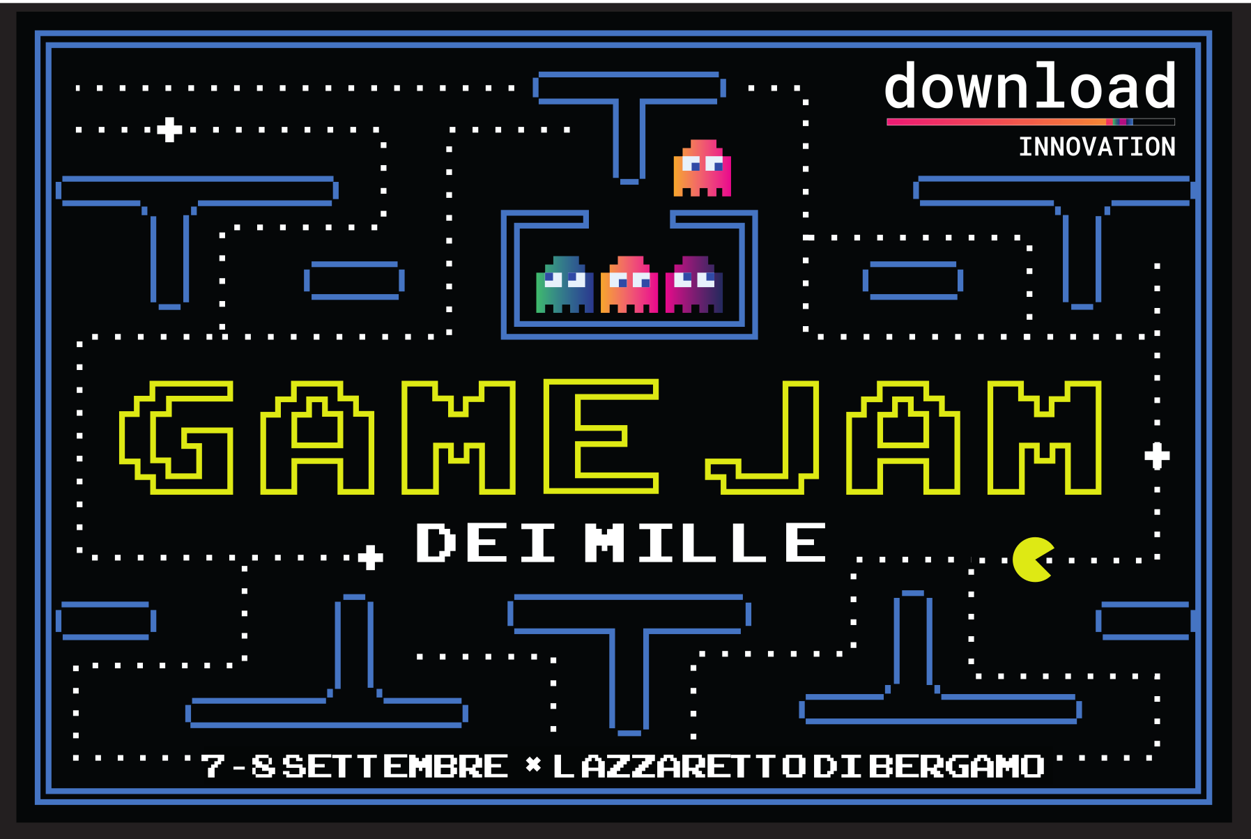 Game Jam dei mille, 7 e 8 settembre 2019, Download innovation - Bergamo